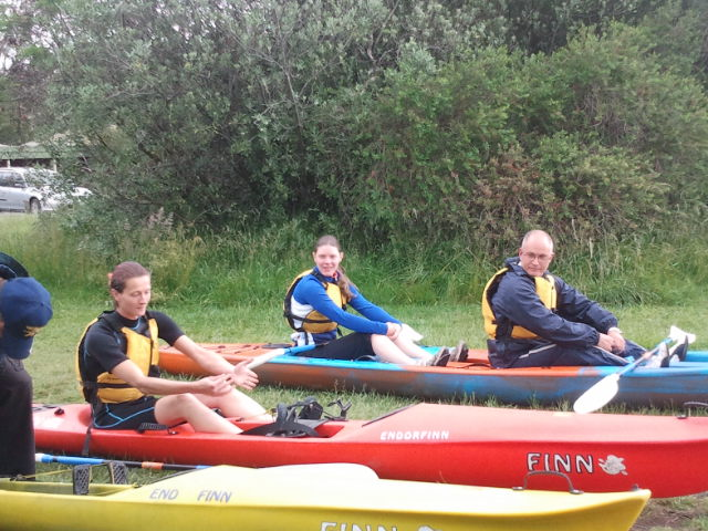 Outdoor Training - Kayaking 'Drills'