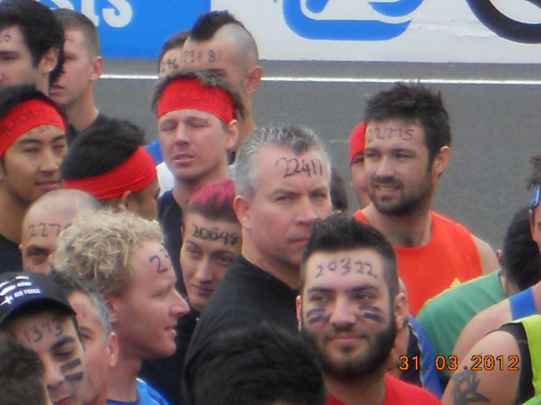 Tough Mudder Event 2012 - Shihan Hodson & Denise