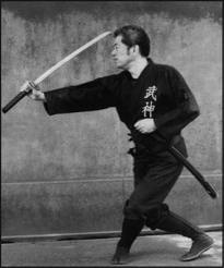 Soke Hatsumi Sword Training