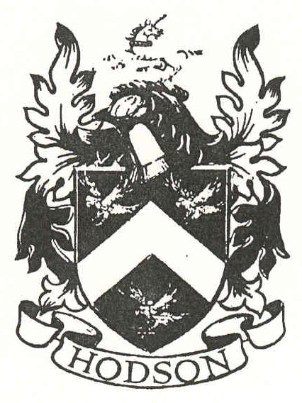 The HODSON Coat of Arms