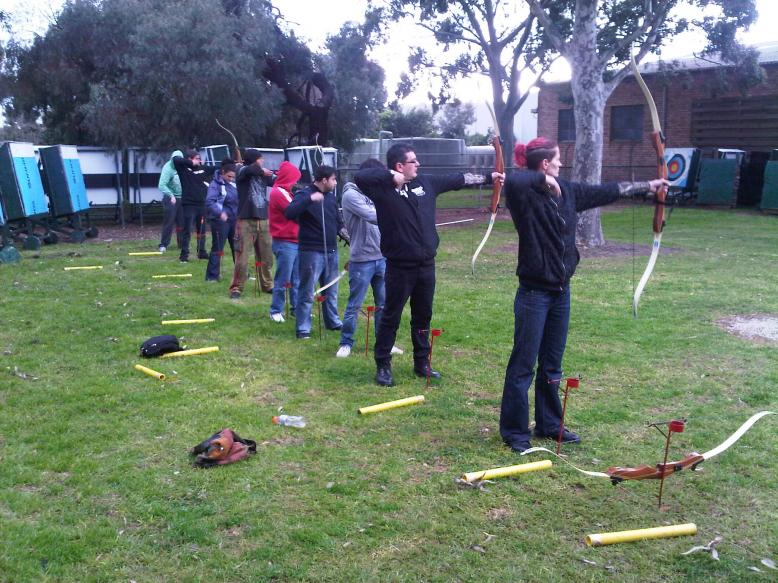 Outdoor Event - Archery Group 1