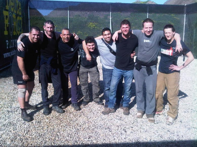 Paintballers - End of day!