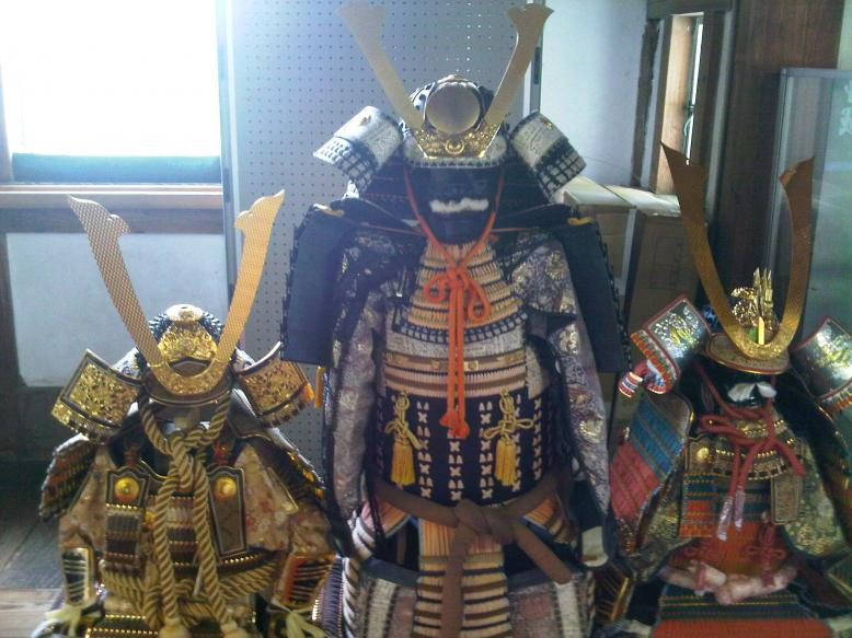Iga Castle - Samurai Armour Set