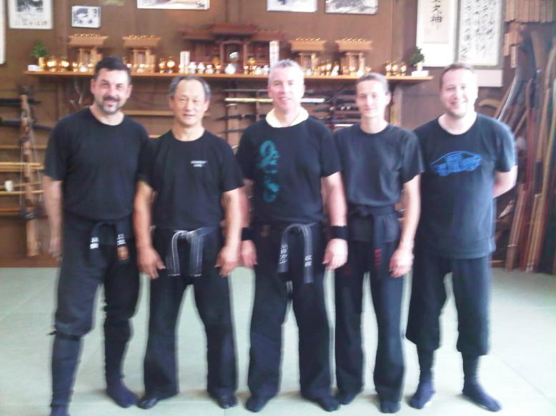 Training With Nagato Shihan at the Honbu Dojo