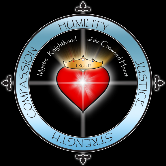 Mystic Knighthood of the Crowned Heart - Official Logo