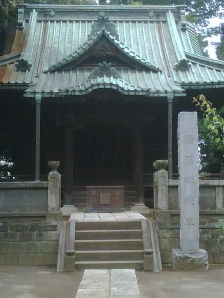 Hidden shrine entrance in Japan