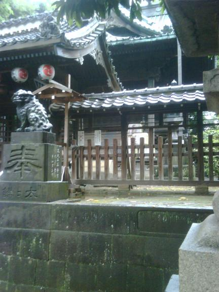 Shrine example in Japan