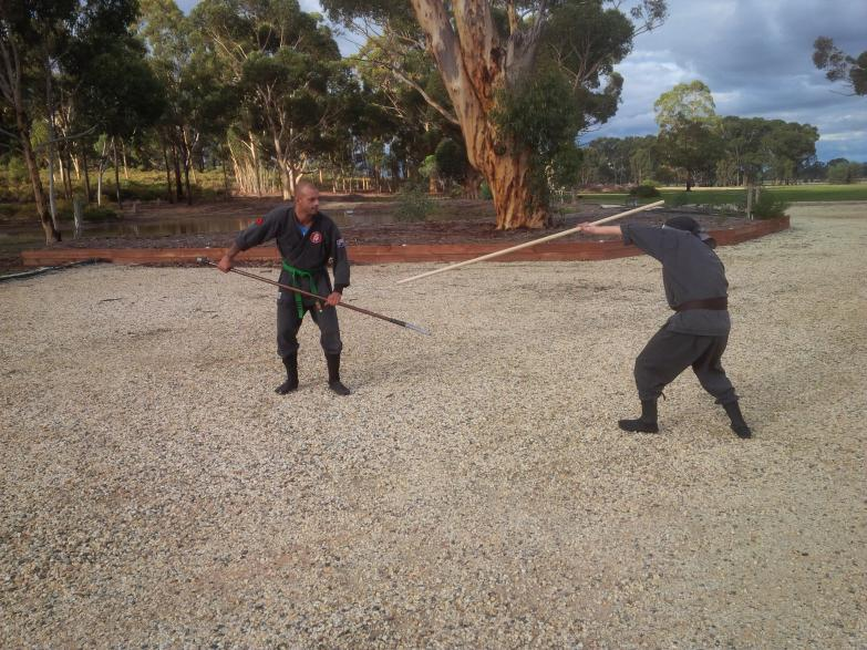 Outdoor Training with Long Weapons